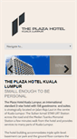 Mobile Preview of hotelplazakl.com.my