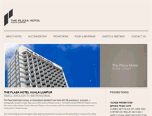 Tablet Preview of hotelplazakl.com.my